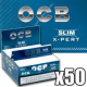 OCB x pert slim Box 50 x