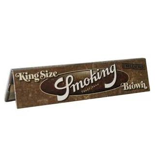 Smoking Brown Slim 25 cahiers